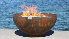 Picture of Big Bowl O' Zen 37 Inch Sculptural Firebowl by John T Unger