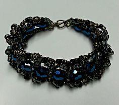Spiral Bracelet Spiral Bead Bracelet Bracelet by SyriousShinies