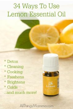34 Ways To Use Lemon