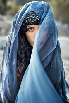 Seductively Veiled...