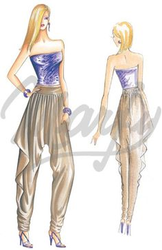 cartamodello Pantaloni / Tute 2215