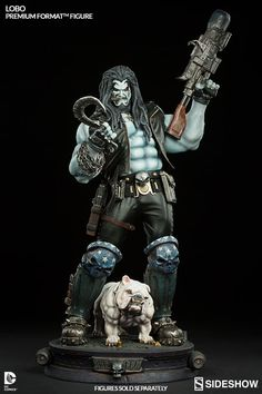 DC Comics Lobo Premium Format(TM) Figure by Sideshow Collect | Sideshow Collectibles