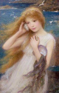 William Robert Symonds: Ninfa del mar, 1893.