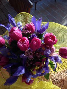 Fiori, bouquet primaverile per la mia laurea