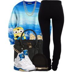 A fashion look from January 2014 featuring Helmut Lang leggings, NIKE athletic shoes and Michael Kors handbags. Browse and shop related looks.