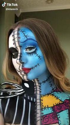 Amazing Halloween Makeup, Halloween Eyes, Halloween Makeup Looks, Group Halloween, Halloween Halloween, Disney Halloween Makeup, Scary Clown Makeup, Disney Makeup, Halloween Recipe