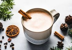 Enjoy the warm, comforting taste of a gingerbread hot chocolate. This recipe is simple, pairing a homemade gingerbread syrup with spiced rum. Gingerbread Dough, Candied Lemon Peel, Spiced Rum, Hot Chocolate Recipes, Cake Toppings, Dough Recipe, Cupcake Recipes