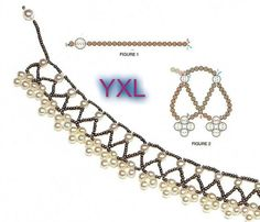 beaded necklace - yule