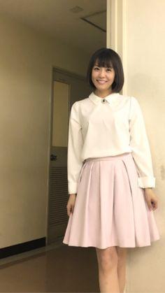 {8360F740-5E43-44B5-82D4-51B9F21182F3:01} Waist Skirt, High Waisted Skirt, Japanese Fashion, Asian Woman, Skater Skirt, Beautiful Women, Kawaii, Female, Lady