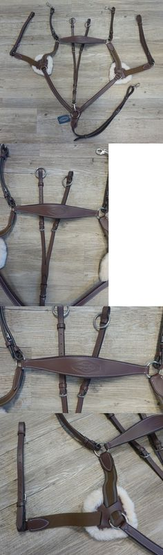 Martingales and Breastplates 47278: Henri De Rivel 5 Point Breastplate W/ Running Attachment Cob Size -> BUY IT NOW ONLY: $109.95 on eBay!