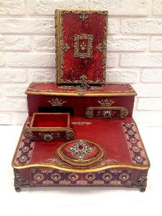 Фотографии Ирины Кожиной Sewing Box, Little Boxes, Decorative Boxes, Box Sets, Decoupage Ideas, Pasta, Board, Photos, Decorated Boxes