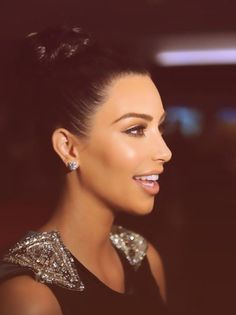 Kim Kardashian.. I don't care what you say, she's flawless.
