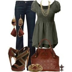 Business Casual fall color fashion