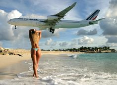Flying low at SXM