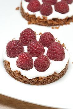 Des tartelettes express aux framboises pour profiter avec légèreté de ces fruits de saison !