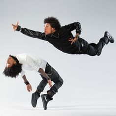 Les twins, Erin Baiano, Dancer photography