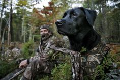 A good day of hunting with mans best friend