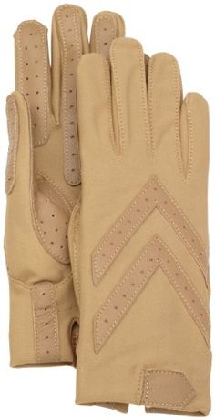 Isotoner Women's Shortie Glove with Leather Palm Strips $38.00