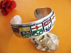 Canada Coat of Arms Bracelet - 1970