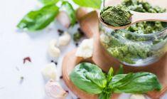 ArtTable   Σάλτσα πέστο με 4 τρόπους Pesto, Salsa, Fresh Rolls, Sprouts, Cantaloupe, Fruit, Vegetables, Ethnic Recipes, Food