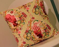 Marie Antoinette Cameo Cushion/Pillow Cover 18 46 cm by LukaMish, $30.00