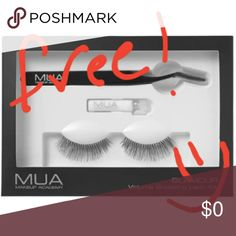 "***FREE with ANY purchase*** Lash kit! Celebrating our first month on Poshmark! Purchase any of our listings at our already low prices and we'll include a Makeup Academy Professional Glamour Volume Boosting Lash Kit for FREE. Just a way to say thanks to the Poshmark community for all your support and ""Posh Love"". Simply make your purchase and comment ""Posh Love"" on the listing to claim it. No offers on items below $10 to qualify. Only 5 free gifts available, first come first served…"