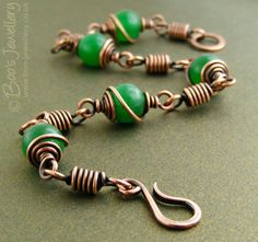 Boo's Jewellery: This week I have mostly been spiralling and coiling