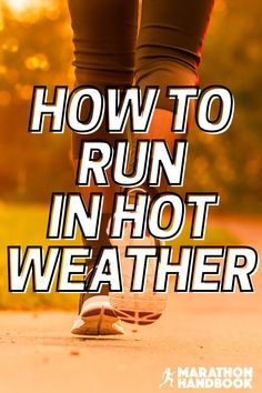 Hot weather can pose a new problem for runners – running in the heat is very different from cool conditions. This running guide explained to me exactly how to adapt my running to the hot summer weather!  Now Im totally adjusted to running in the heat Running In The Heat, Running Guide, Marathon Runners, Work Hard, Weather, Poses, Hot, Summer, Figure Poses