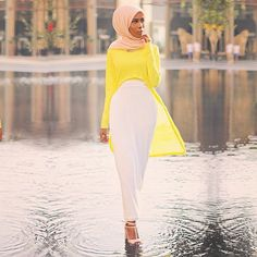 These Hijab Fashion Bloggers Will Make You Rethink Modest Style: As fashion brands start to collaborate with more diverse and inspiring women, Uniqlo also jumped on board when it announced its newest partnership with fashion designer and blogger Hana Tajima.