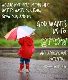 LDS General Conference Elder Godoy. #ldsconf #lds #quotes