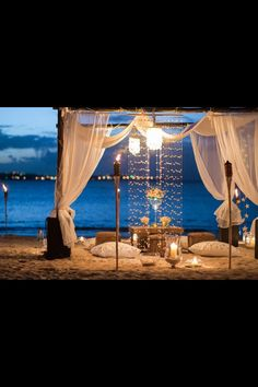 Lovely Romantic setting @ the beach! Mega Romantic!