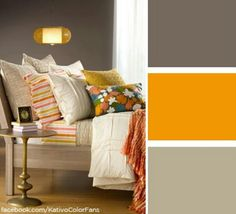 Mustard yellow...living room colors?
