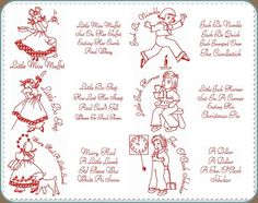 Free Nursery Rhyme Embroidery Patterns - Yahoo! Voices - voices