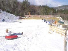 Jonas Ridge Tubing Park  is located in the High Country in between Linville and Banner Elk. Gravity does its thing, zipping you down the runs leaving you gasping for air. Night time lights for night tubing and snow guns if mother nature need help making snow.