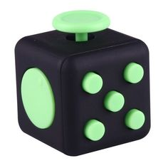 Fidget Cube Relieves Stress and Anxiety Attention Toy for Children and Adults, Random Color Delivery