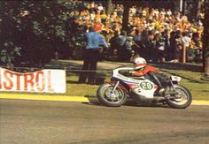 Jarno Saarinen Imatra winner 250cc 1972. World Champion 250cc 1972. Map, Castor kaarre. We locals call it Pistetalojen mutka.
