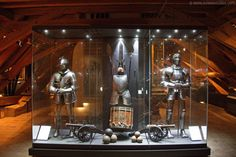 Armor and weapons collection in the Schwarzenberg Palace, Prague