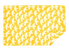 Lintuset means little birds in Finnish language. The blanket is available in large or small size. The material is soft, light and warm. Designer: Hanna Konola Color: Mustard yellow with reversible pattern Material: merino wool & pure new wool Finnish Language, Little Birds, Mustard Yellow, Villa, Pure Products, Wool, Blanket, Pattern, Cotton