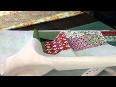 How to Make Christmas Garland with Charm Packs