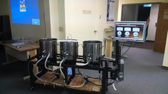 HERMS Beer Brew System. Controlled by program I developed in LabVIEW.
