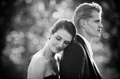 Beautiful bride & groom, photo bij @monetmine