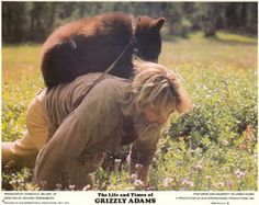 Denver Pyle Grizzly Adams | Adams et de l'ours Benjamin (The Life and Times of Grizzly Adams ...
