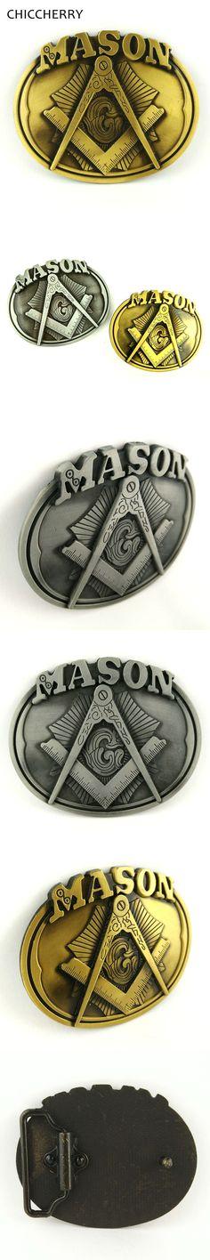 Male Accessories Mason Metal Cowboy Belt Buckle With Pewter Finish Hebillas Cinturon Hombre Boucle Ceinture For 4cm Width Belts