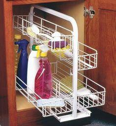 Home kitchen cabinet organizers on pinterest cabinet for Kitchen cabinets 20 inches deep
