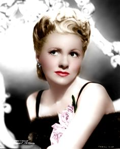 Joan Fontaine (Color by Brenda J Mills)