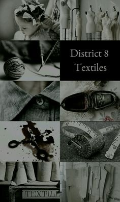 The Hunger Games Aesthetics: District 8