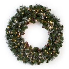 Make Christmas even sweeter this year with the 30 in. This is an excellent size for creating drama anywhere you hang it. Christmas Wreaths, Christmas Gifts, Christmas Decorations, Christmas Tree, Holiday Decor, Christmas Ideas, Battery Operated Christmas Wreath, Pre Lit Wreath, Light Colors