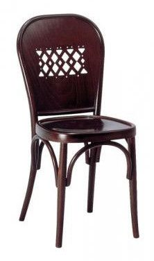 With its cutwork back, the America is a reinterpretation of a classic design from Michael Thonet.