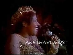 ARETHA FRANKLIN - NATURAL WOMAN - 1977 Love the song but Aretha is National Treasure!