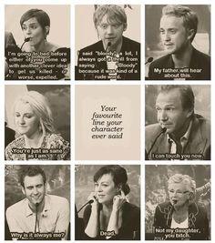 Harry Potter cast member's favorite lines